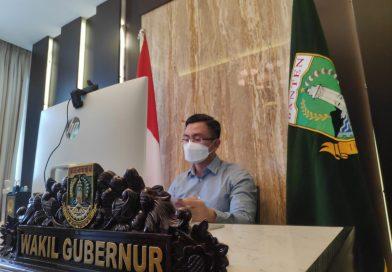 Wagub Andika Lapor ke Pusat, Banten Laksanakan Penyekatan Mudik & Perpanjang Lagi PPKM Mikro