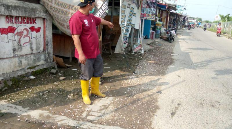 Kades Cijeruk Geram Karena Selokan Got Pembuangan Limbah Diurug Pemilik Kios