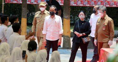 Lapor Presiden Jokowi,  Gubernur WH Sampaikan PAD Banten Sudah 65 Persen