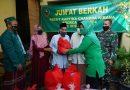 Jumat Berkah,  Ketua Persit KCK Koorcab Rem 064 PD III/Siliwangi Kunjungi Yayasan Ibnu Abbas Al-Mujahidin