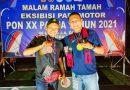 Atlet Paramotor Binaan Lanud Pangeran M. Bun Yamin Raih Emas Di Ajang PON XX Papua 2021