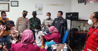 Sinergitas PTPN VII Unit Way Berulu dan Pemkab Pesawaran Memutus Mata Rantai Corona