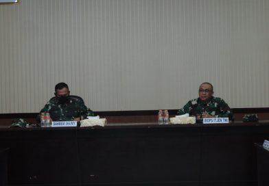 Danrem 064/MY Sambut Kedatangan Tim Wasrik Itjen TNI
