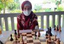 Perkuat Mental Bertanding Jadi Prioritas Program Latihan Tim Catur Beregu Putri Lampung
