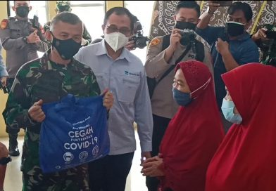 Chandra Asri Bantu 2 Ribu Paket Sembako Kepada Masyarakat Terdampak PPKM